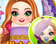 Ever After high Ohair babies nevelde játékok